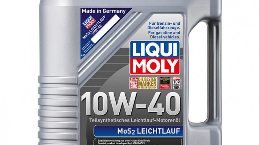 Ulei Liqui Moly 10W40 MoS2 5 litri