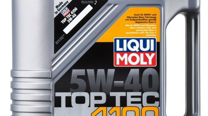 Ulei Liqui Moly 5W40 Top Tec 4100 1 litru