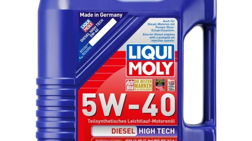 Ulei Liqui Moly Diesel Hightech 5W40 5 litri