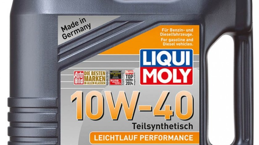 Ulei Liqui Moly Leichtlauf Performance 10w40 4 litri