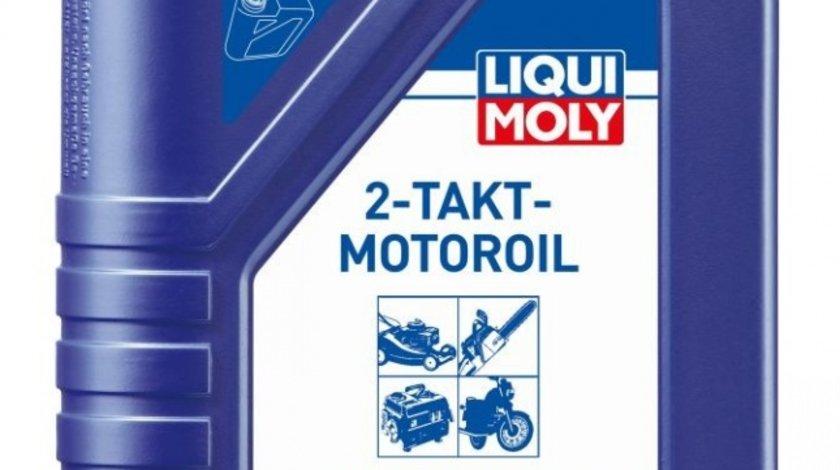 Ulei Liqui Moly Takt - Motoroil 2T , ulei universal sintetic 2 timpi, pentru drujbe, masini taiat iarba, motociclete, API TC Liqui Moly 1L
