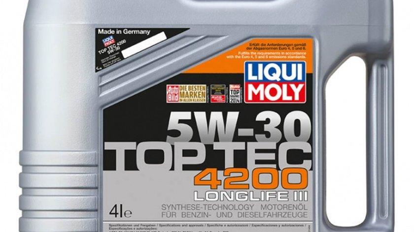 Ulei Liqui Moly Top Tec 5W30 4200 LongLife III 4 litri