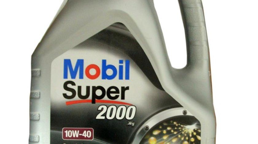 Ulei Mobil Super 2000 X1 10W40 4 litri Benzina/Diesel