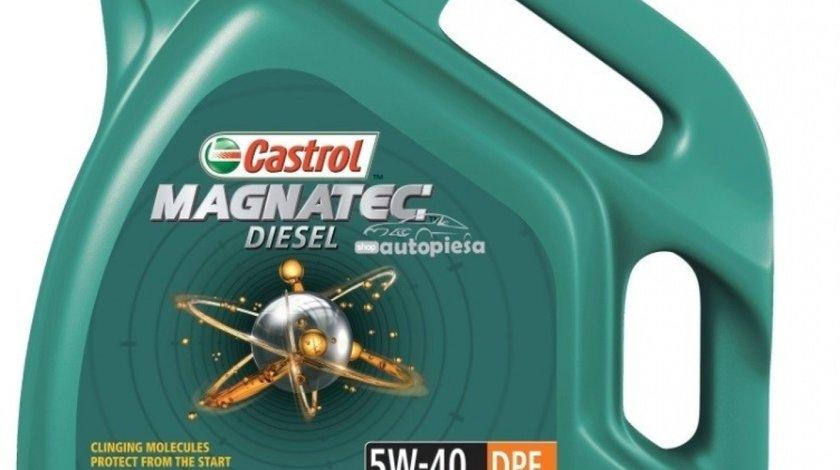 Ulei motor Castrol Magnatec Diesel DPF 5W40 5L 150A68 piesa NOUA