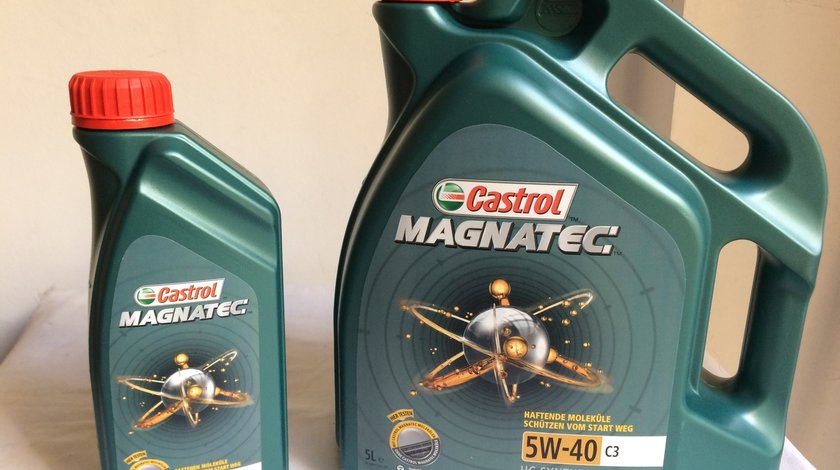 Ulei Motor - Castrol Magnatec Stop-Start 5w40 C3 * Import Germania *