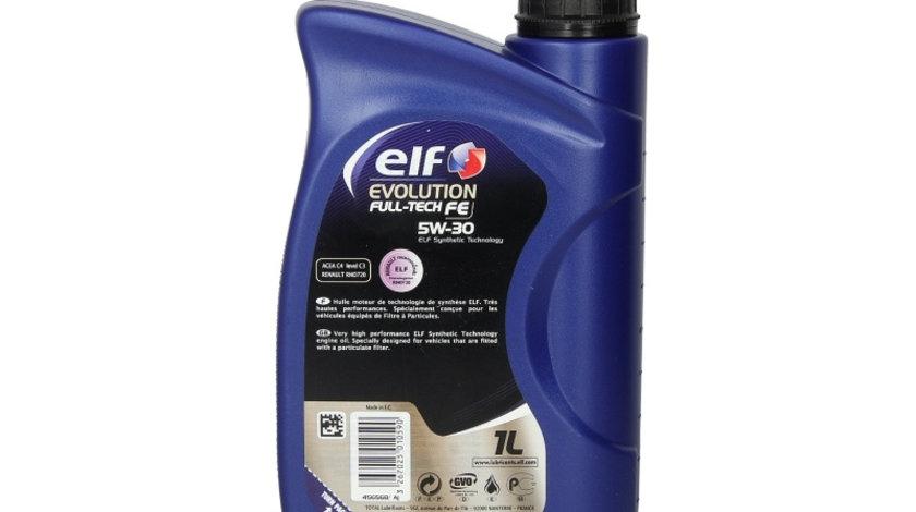 Ulei motor ELF EVO FULLTECH FE 5W30 1L