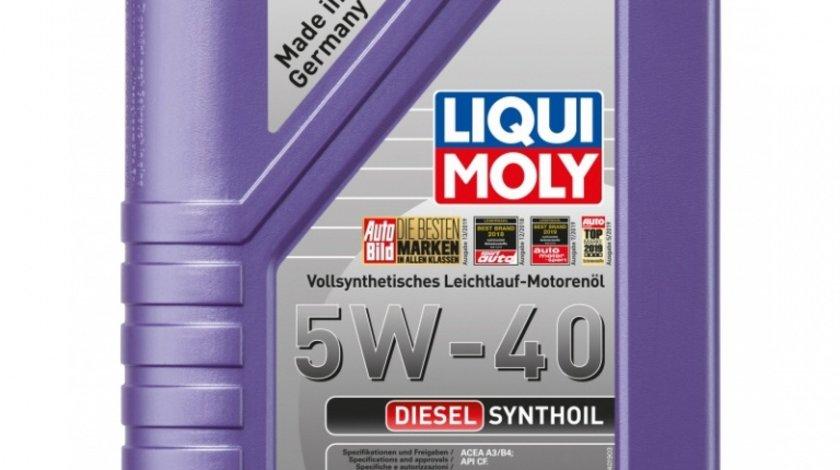Ulei motor Liqui Moly Diesel Synthoil 5W-40 1340 1L