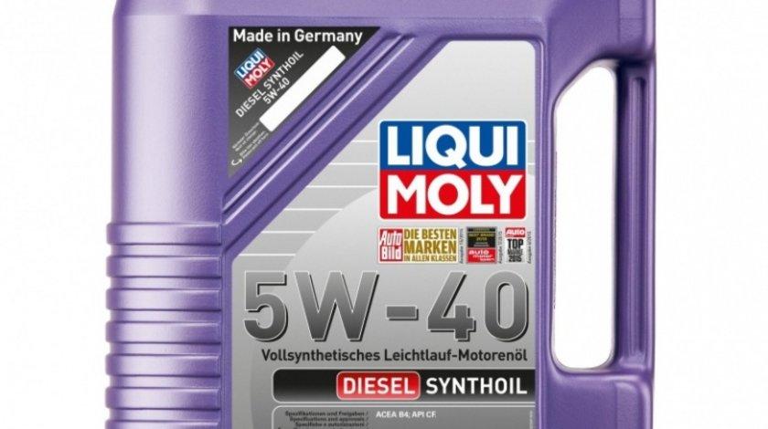 Ulei motor Liqui Moly Diesel Synthoil 5W-40 1341 5L