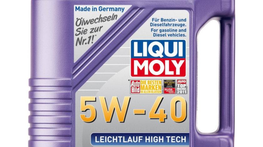 Ulei motor Liqui Moly Leichtlauf High Tech 5W40 5L