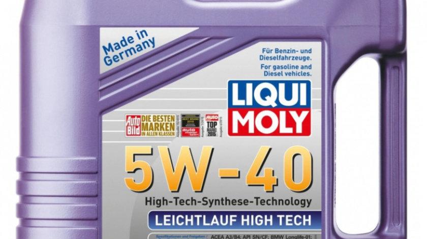 Ulei motor Liqui Moly Leichtlauf High Tech Leichtlauf 5W-40 2595 4L