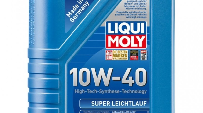 Ulei motor Liqui Moly Super Leichtlauf 10W-40 9503 1L