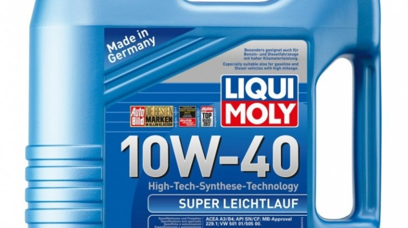 Ulei motor Liqui Moly Super Leichtlauf 10W-40 9504 4L
