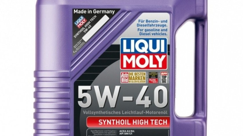 Ulei motor Liqui Moly Synthoil High Tech 5W-40 1307 5L