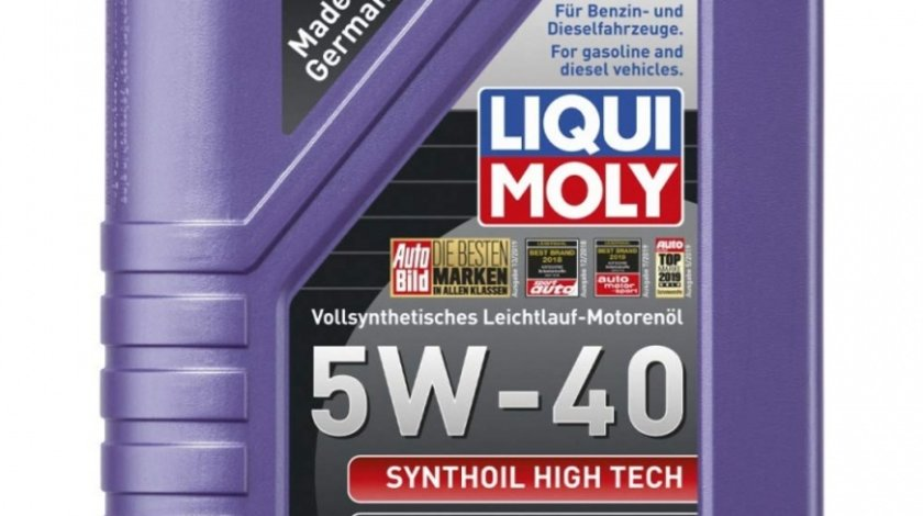 Ulei motor Liqui Moly Synthoil High Tech 5W-40 1855 1L