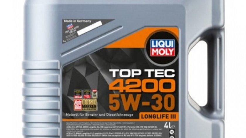 Ulei motor Liqui Moly Top Tec 4200 Longlife III 5W-30 3715 4L