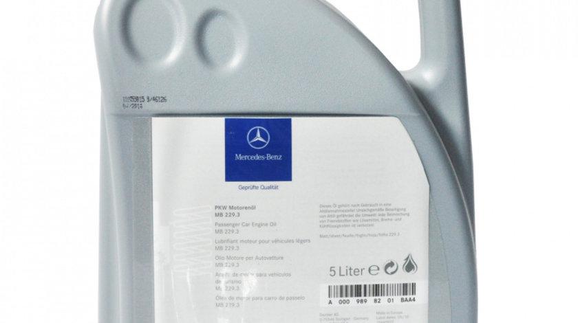 Ulei motor Mercedes 229.3 5W40 5L