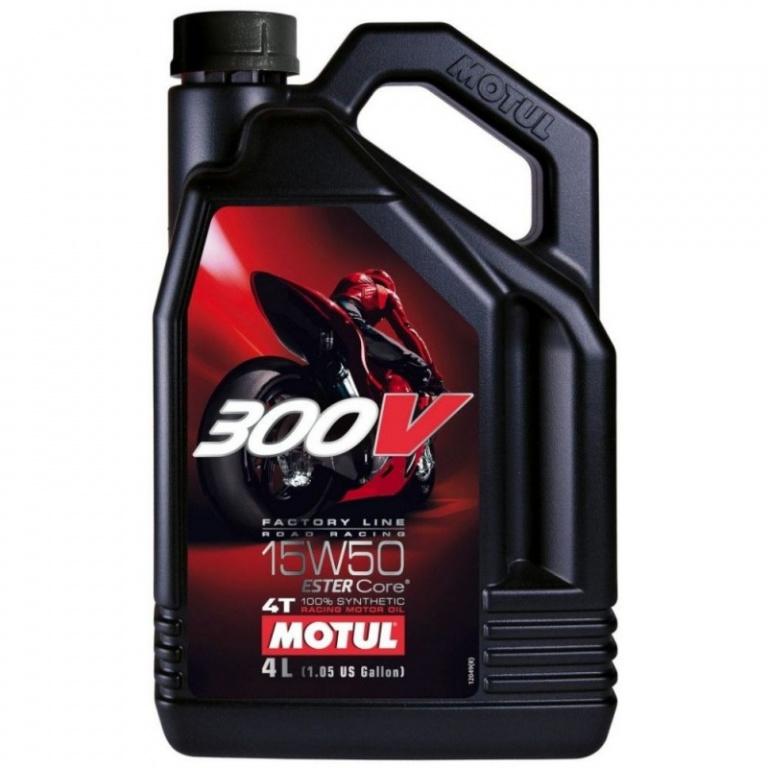 Ulei motor Motul 300V Factory Line 4T 15W-50 4L 104129
