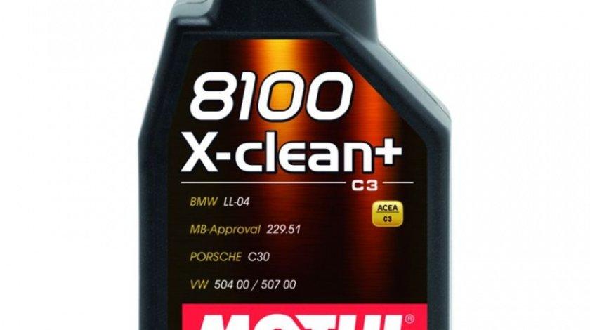 Ulei motor Motul 8100 X-Clean+ 5W-30 1L