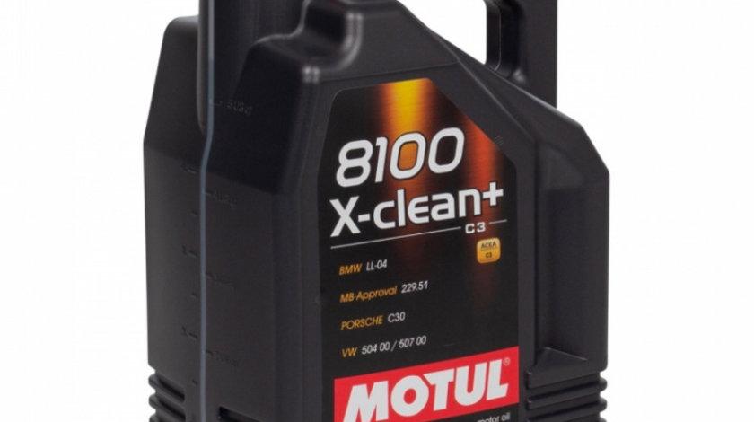 Ulei motor Motul 8100 X-Clean+ 5W-30 5L