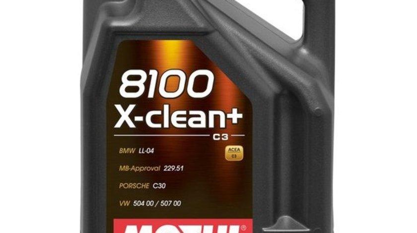 ULEI MOTOR MOTUL 8100 X-CLEAN 5W40 5Litri
