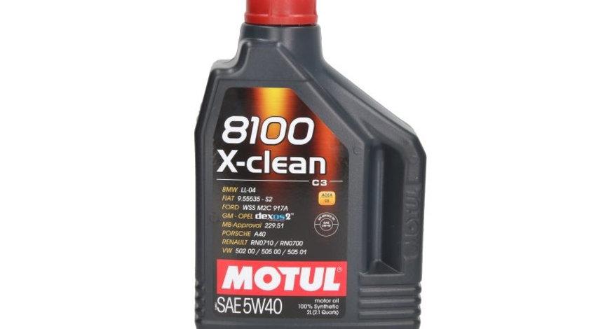 Ulei motor MOTUL 8100 X CLEAN 5W40 C3 2L