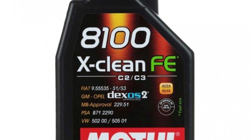 Ulei motor Motul 8100 X-Clean FE 5W-30 1L