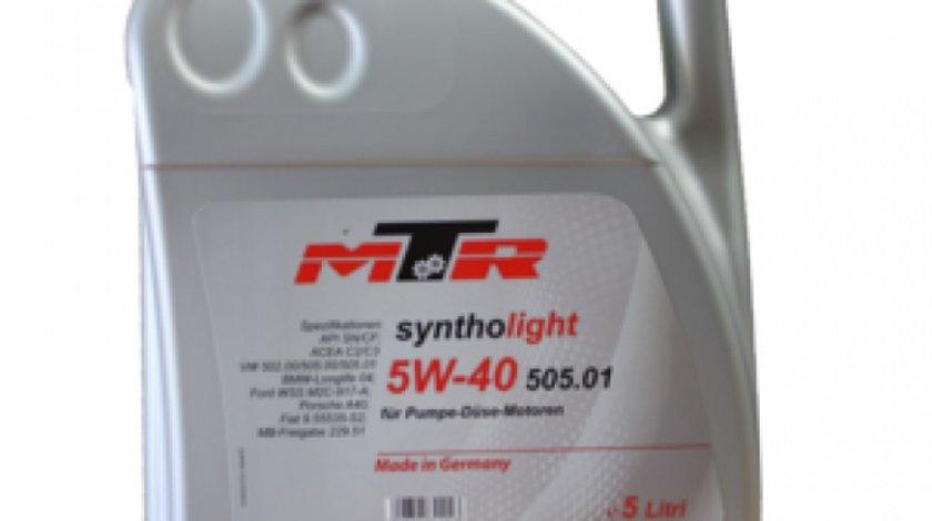 Ulei motor Mtr Syntholight 10W-40 505.01 5L