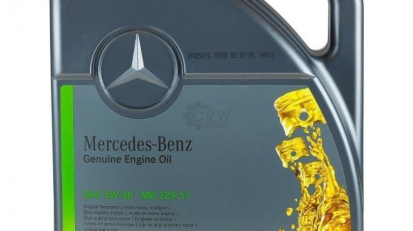 Ulei motor original Mercedes 5W30 5L