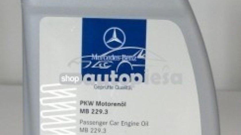 Ulei motor original MERCEDES 5W40 (MB 229.3) 1L A0009898201BAA6 piesa NOUA