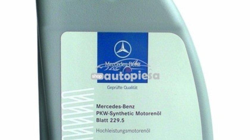 Ulei motor original MERCEDES 5W40 (MB 229.5) 1L A0009898301BAA6 - produs NOU