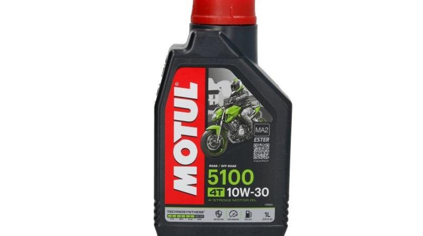 Ulei motor pentru motociclete Motul Ester 5100 10W30 4T 1L 510010W301L piesa NOUA