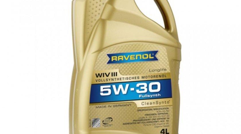 Ulei Motor Ravenon WIV Long Life III 5W-30 4L