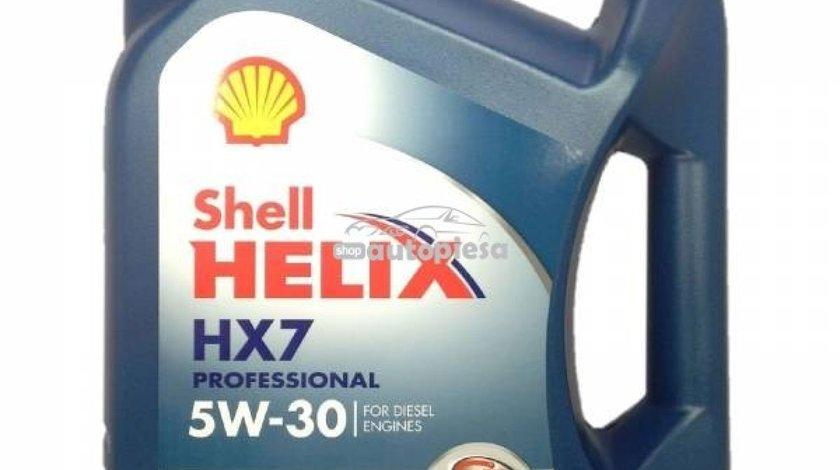 Ulei motor SHELL Helix HX7 Professional AV diesel 5W30 5L SHEN0084 - produs NOU