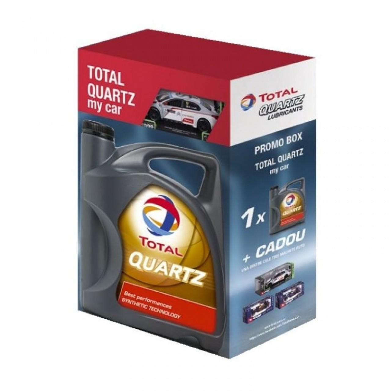 Ulei motor Total Quartz 9000 Future NFC 5W-30 4L Promo Box My Car