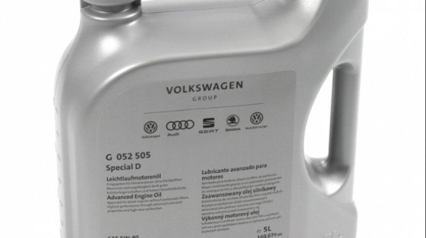 Ulei motor Volkswagen Special D G052505M4 5W-40 5L