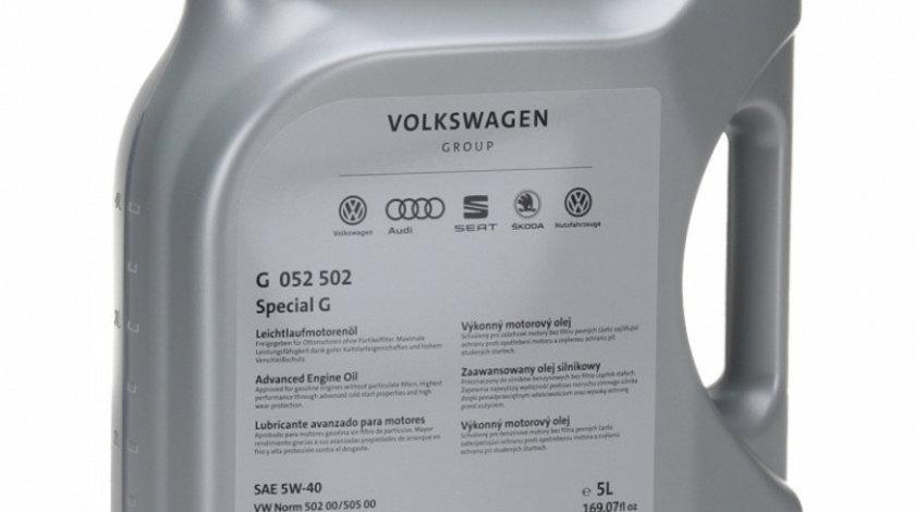 Ulei motor Volkswagen Special G 5W-40 G052502M4 5L