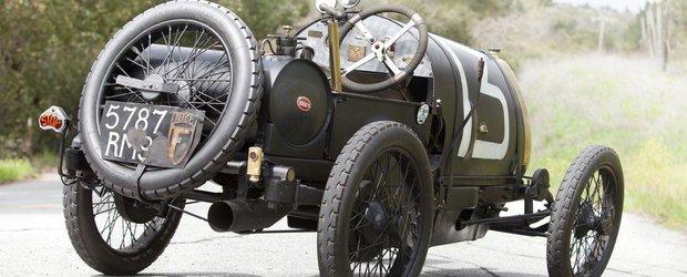 Ultima comoara din hambar: un Bugatti Brescia zace de 40 de ani intr-un garaj