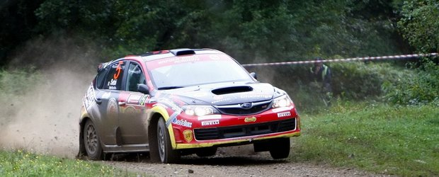 Ultima etapa din CNR in 2010 pentru Napoca Rally Academy