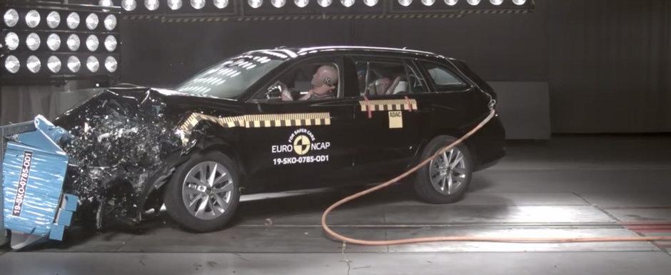 Ultima ora: Euro NCAP a testat noua Skoda Octavia 4. Cat de sigura este masina ceha