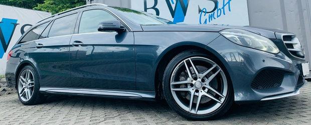 Ultima revizie a fost la 409 MII. Cati KM are acum un Mercedes cu motor diesel din Germania