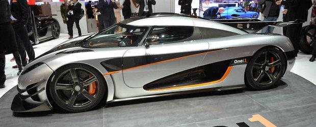 Ultima sansa de a detine un Koenigsegg One:1. Masina de teste iese la vanzare
