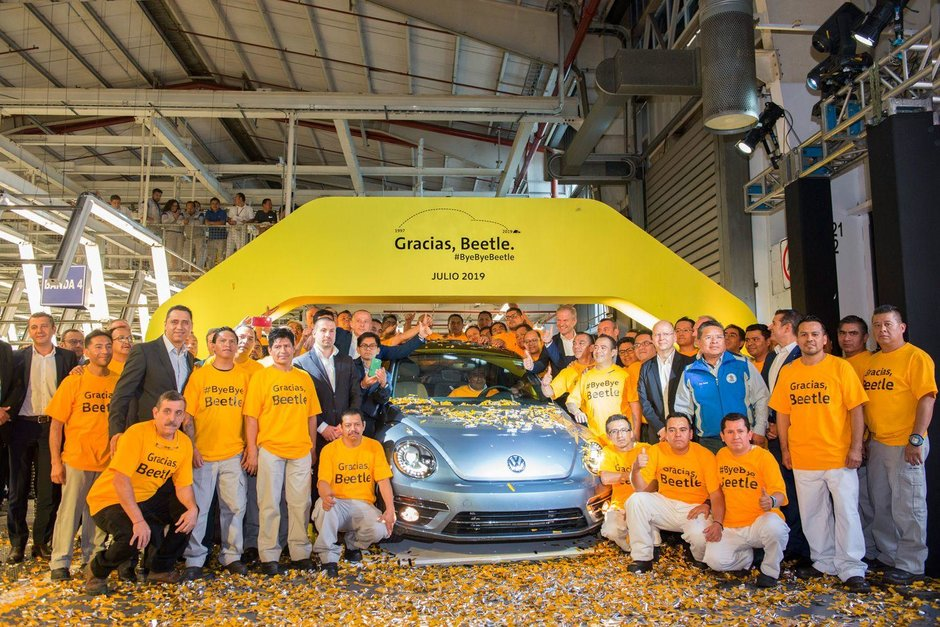 Ultimele exemplare VW Beetle