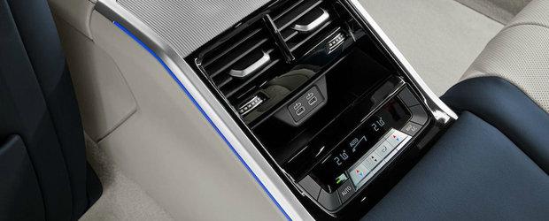 Ultimele imagini ale noului Seria 8 Gran Coupe ne invita in cabina masinii bavareze. INTRA AICI ca sa te convingi si singur