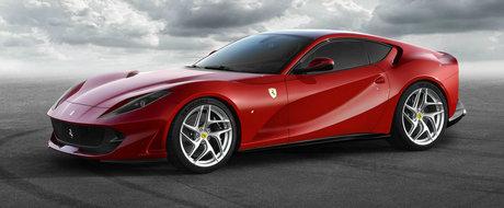 Ultimul Ferrari V12 aspirat debuteaza cu 800 CP sub capota si... un nume super-stupid