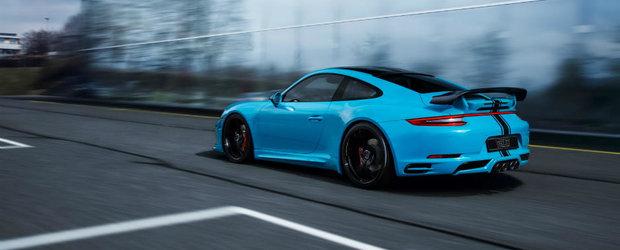 Ultimul kit de tuning al celor de la TechArt ii da Porsche-ului 911 Carrera o doza semnificativa de cai putere