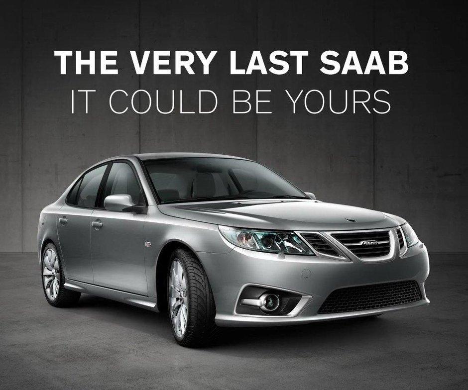 Ultimul Saab construit