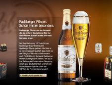Un A5 Convertible special pentru Radeberger Pilsner