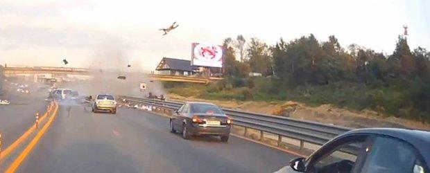 Un accident mortal ne demonstreaza ce poate face viteza. VIDEO SOCANT