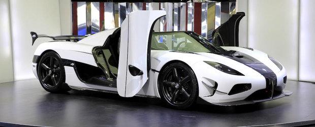 UN Agera RS e de vanzare in Dubai. CAT costa exclusivistul supercar de 1160 CP