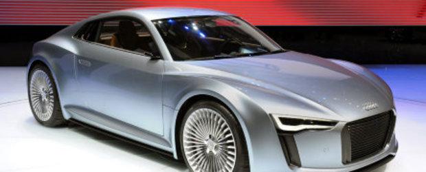 Un al doilea Audi e-tron Concept a surprins Detroitul!